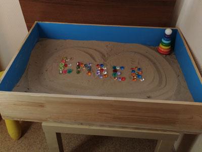 Песочница для песочной терапии
