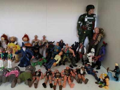 Коллекция игрушек для песочной терапии